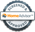 Screened and Home Advisor Approved